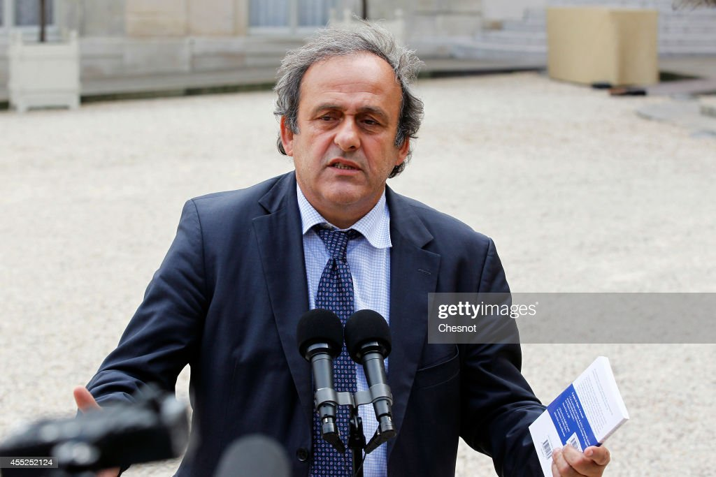 French President Hosts A Lunch For EURO 2016 At Elysee Palace