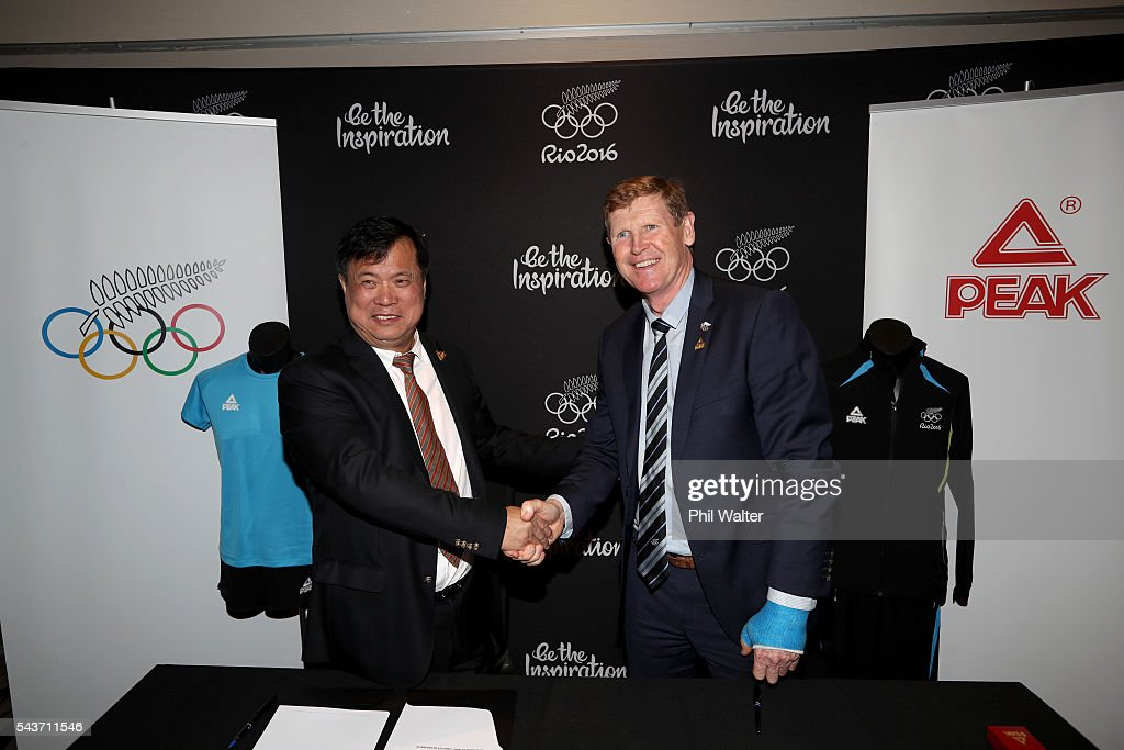 New Zealand Olympic Sponsor Announcement