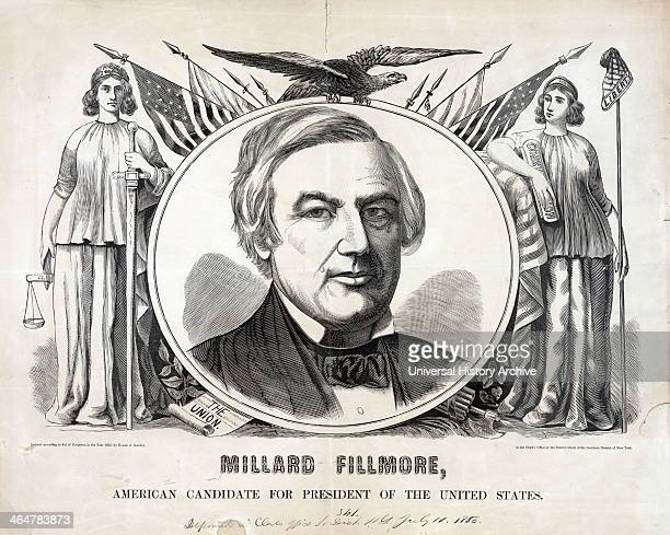 President Millard Fillmore 1856
