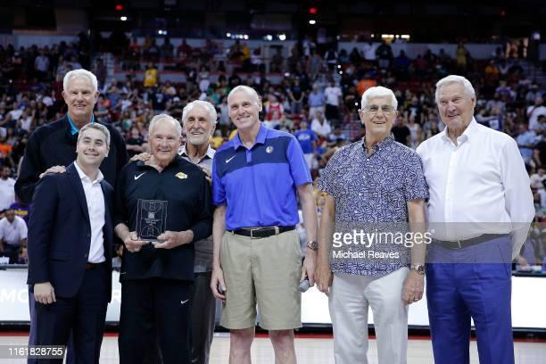 President Mitch Kupchak of the Charlotte Hornets David Fogel Former NBA assistant coach Bill Bertka President Pat Riley of the Miami Heat head coach...