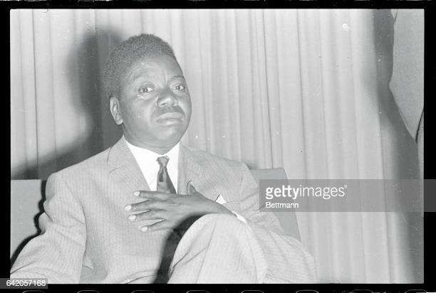 President Moise Tshombe of Katanga interviewed by Peter Younghusband of the London Daily Mail vowed to fight UN forces 'to the last manto the last...