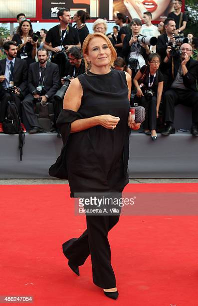 RAI president Monica Maggioni attends the opening ceremony and premiere of 'Everest' during the 72nd Venice Film Festival on September 2 2015 in...