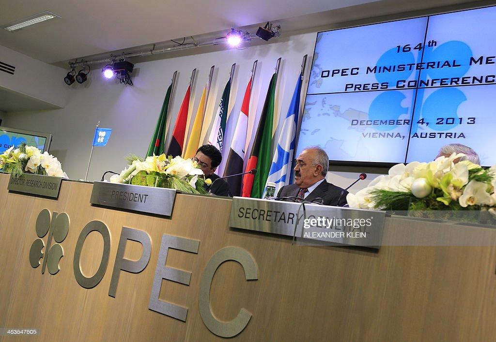 AUSTRIA-OPEC-COMMODITIES-ENERGY-OIL : News Photo