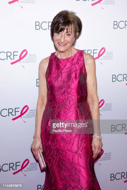 President Myra J Biblowit attends the Breast Cancer Research Foundation 2019 Hot Pink Party at Park Avenue Armory Manhattan