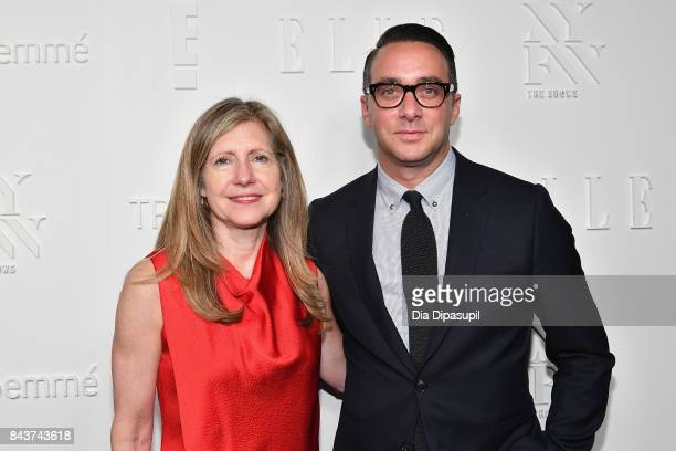 President NBCU Lifestyle Networks NBCU Cable Entertainment Frances Berwick and President of E Entertainment Adam Stotsky attend the NYFW Kickoff...
