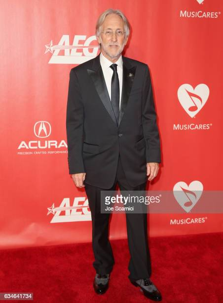 President Neil Portnow attends MusiCares Person of the Year honoring Tom Petty at the Los Angeles Convention Center on February 10 2017 in Los...