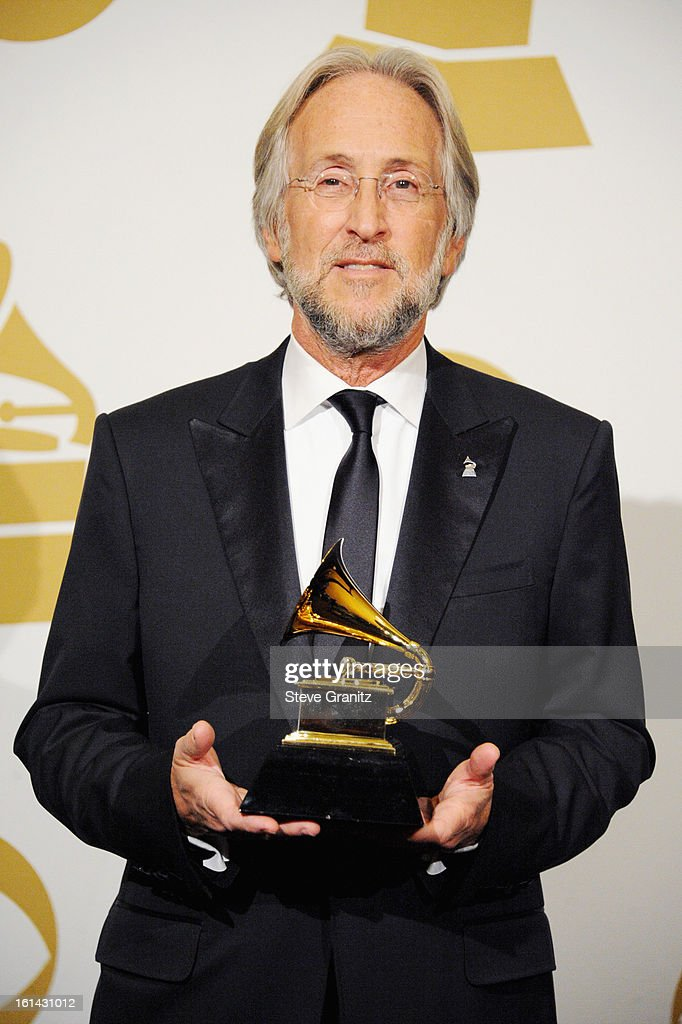 President Neil Portnow poses in the press room during the 55th Annual GRAMMY Awards at STAPLES Center on February 10, 2013 in Los Angeles, California.
