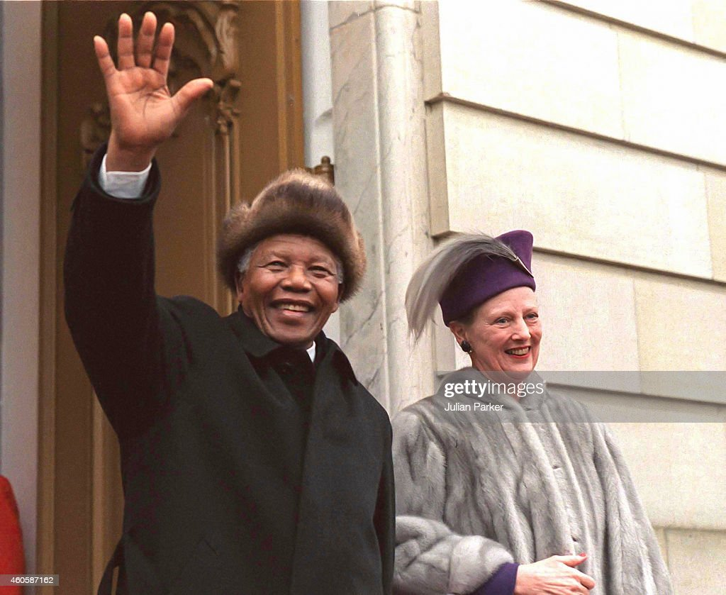 State visit to Denmark, by President Nelson Mandela of South Africa : News Photo