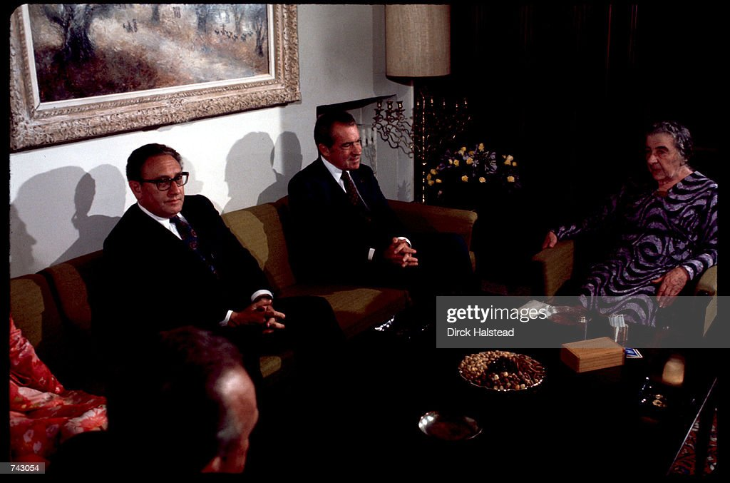 President Nixon Visits Middle East : News Photo