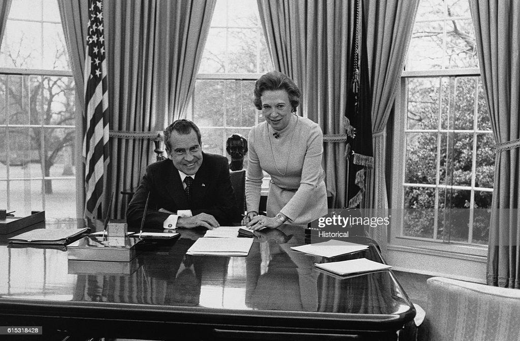 nixon office. Nixon And Rosemary Wood Office V