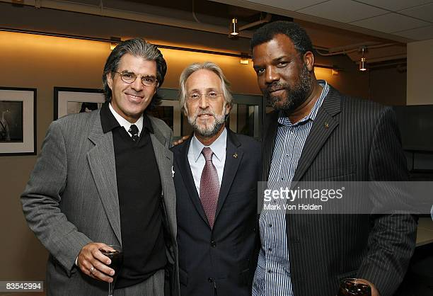 President NY Chapter Steve Sterling Recording Academy President/CEO Neil Portnow Merl Saunders of the Recording Academy San Francisco attends the New...