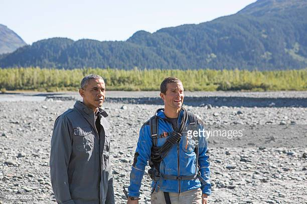 GRYLLS President Obama Episode 209 Pictured President Barack Obama Bear Grylls