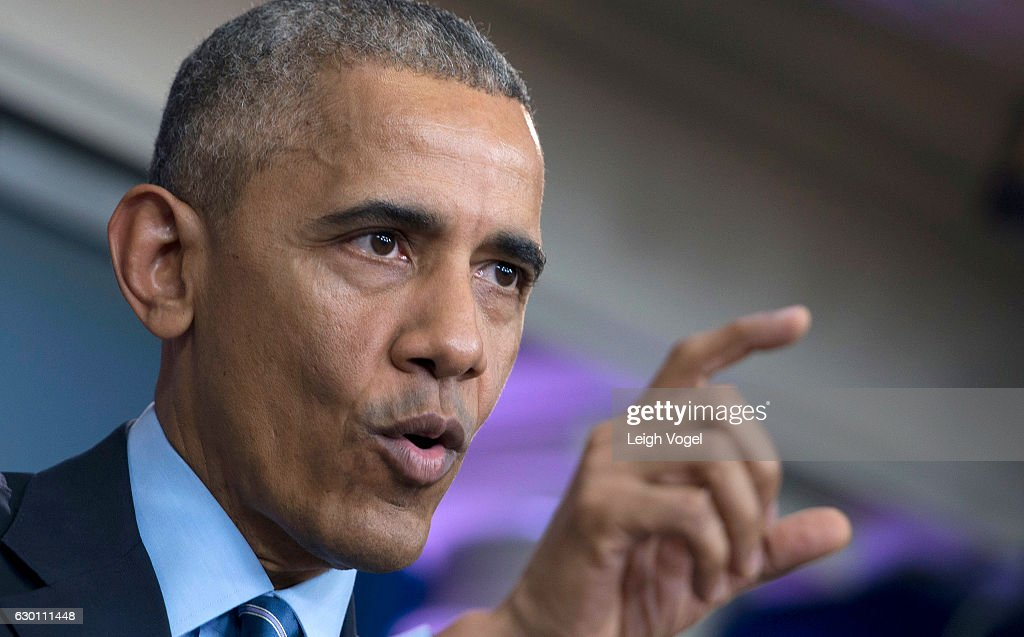 President Obama Holds Year-End Press Conference : News Photo