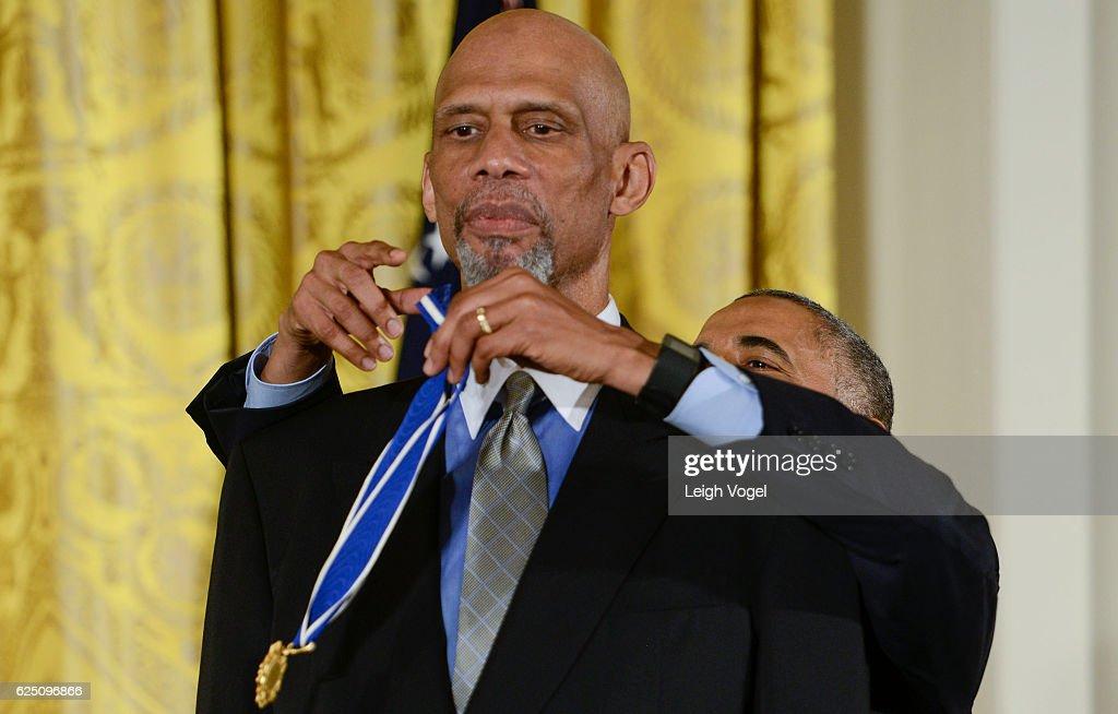 2016 Presidential Medal Of Freedom Ceremony : News Photo