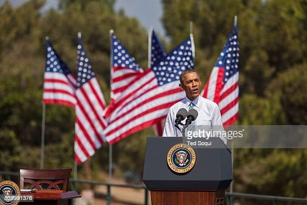 President Obama signed a declaration marking the mountains of San Gabriel in Southern California a National Monument The San Gabriel mountain range...