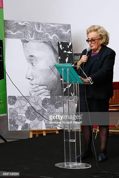 President od Association of Paris' Hospitals Bernadette Chirac attends the 'Maison de Solenn' 10th Anniversary on November 17 2014 in Paris France