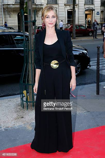 President of '20th Amnesty International France' Gala, Emmanuelle Beart attends the '20th Amnesty International France' : Gala 'Music against...