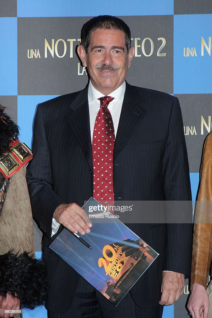 'Night At The Museum: Battle Of The Smithsonian' - Rome Screening : News Photo