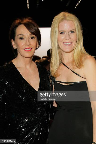 President of Academy of Art University Dr Elisa Stephens and Alex McCord attend the Academy Of Art University Spring 2015 Collections during...
