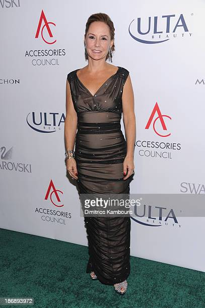 President of Accessories Council Karen Giberson attends the 17th Annual Accessories Council ACE Awards At Cipriani 42nd Street on November 4 2013 in...