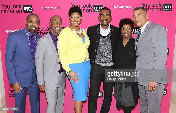 President of Advertising Sales BET Networks Louis Carr President of Music Programming Stephen Hill Vicky Free Bill Bellamy Gladys Knight and General...