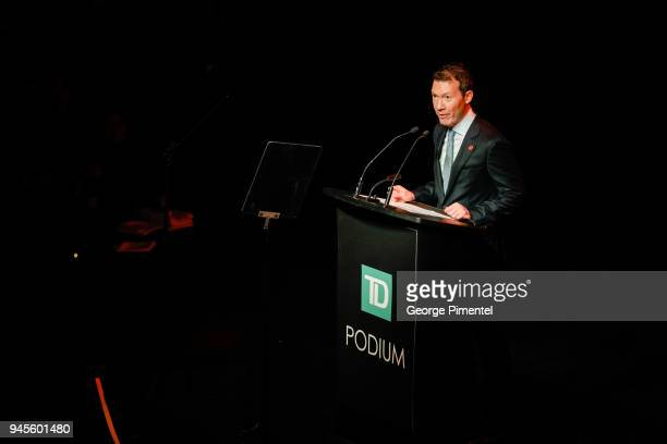 President of Air Canada Benjamin Smith attends Wanderluxe benefiting Air Canada And SickKids Foundationon held at Rebel on April 12 2018 in Toronto...