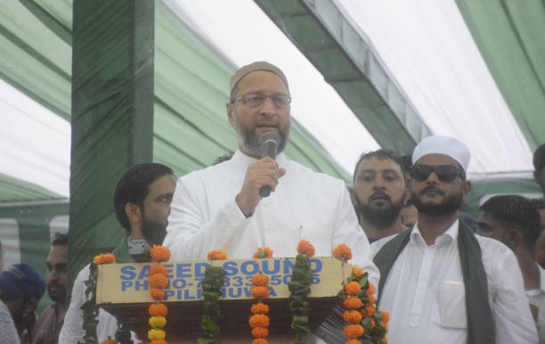 IND: AIMIM Party President Asaduddin Owaisi Visits Ghaziabad