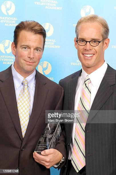 President of Anheuser Busch August Busch IV who received special Recognition for Sports Marketing and Joe Buck