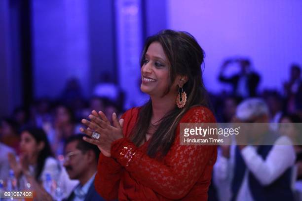 President of Appu Ghar International Amusement Limited Niti Saxena during the Hindustan Times Game Changer Awards 2017 at Hotel Oberoi on May 24 2017...