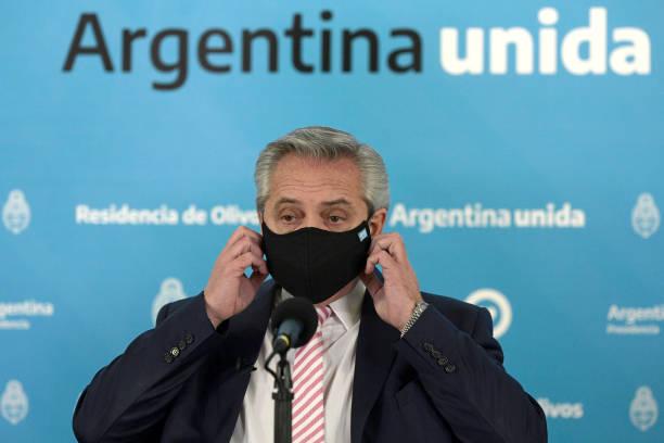 ARG: Alberto Fernandez Announces Argentina Will Produce Oxford Coronavirus Vaccine