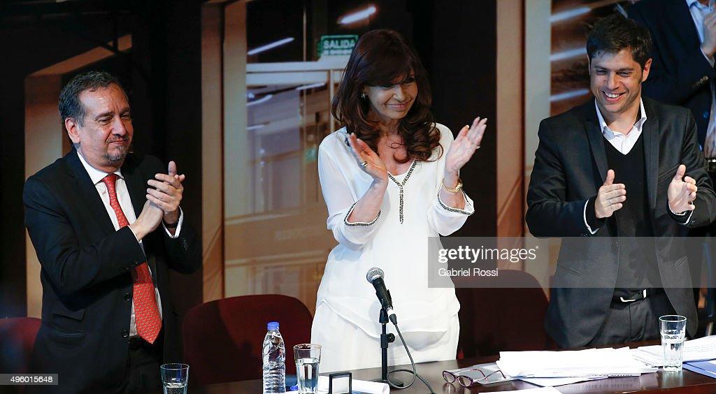 President Cristina Fernandez de Kirchner Inaugurates Technological Hub