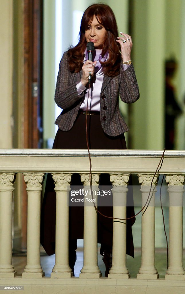 Cristina Fernandez de Kirchner - Press Conference