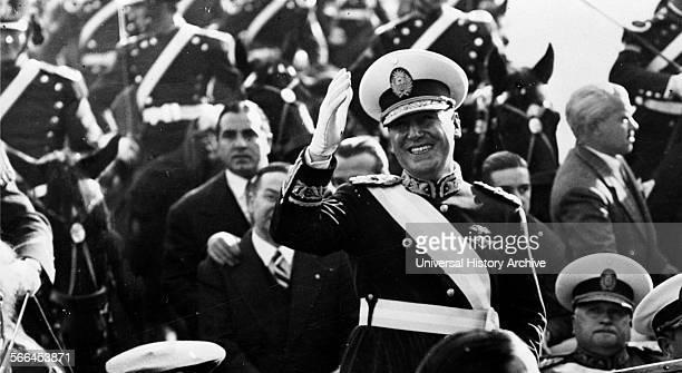President of Argentina Juan Domingo Peron 1950