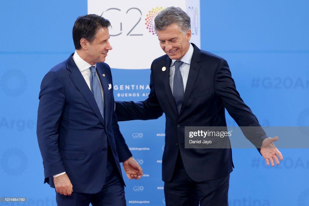 Argentina G20 Leaders' Summit 2018 - Day 1 Of Sessions : Foto di attualità