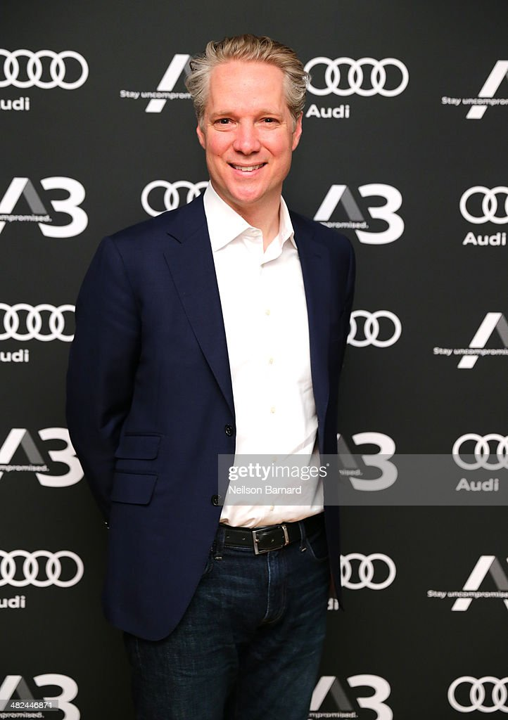 President of Audi of America, Scott Keogh attends the Audi A3 Launch Event with M.I.A. on April 3, 2014 at SIR Stage37 in New York City.