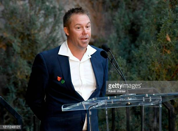 """President of Aussie Ark Tim Faulkner attends """"Meet Me In Australia"""" To Benefit Australia Wildfire Relief Efforts, hosted by The Greater Los Angeles..."""