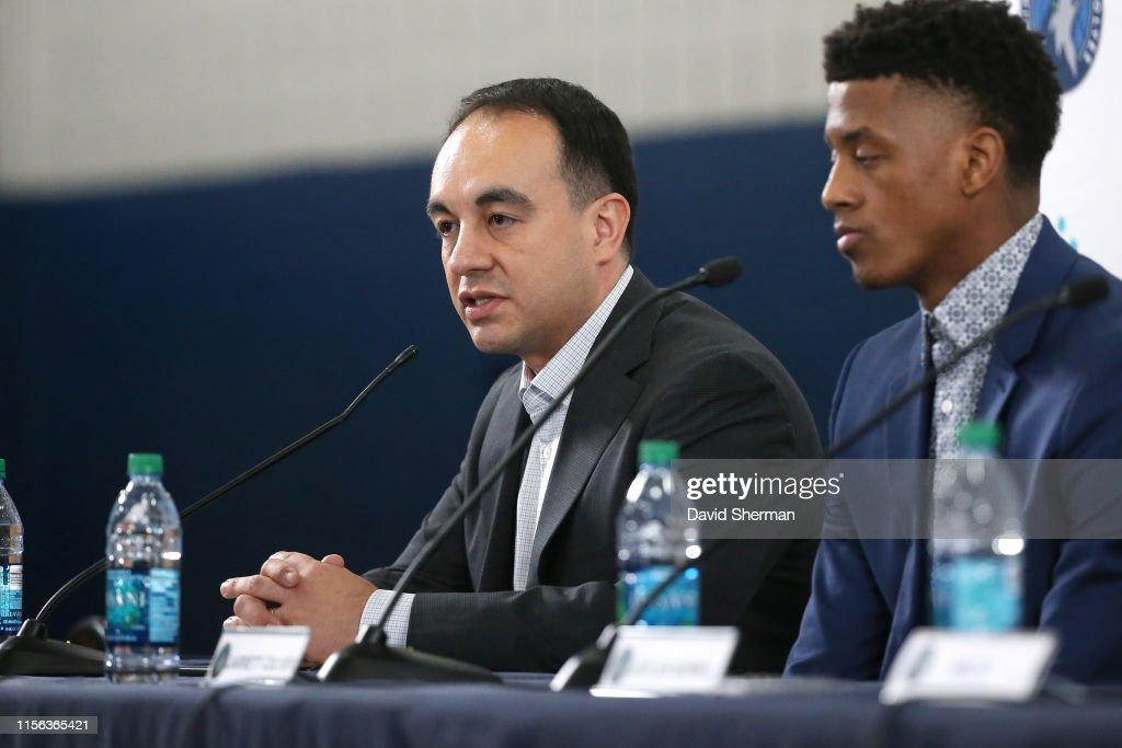 Minnesota Timberwolves Introduce Jarrett Culver, Jaylen Nowell, & Naz Reid : News Photo