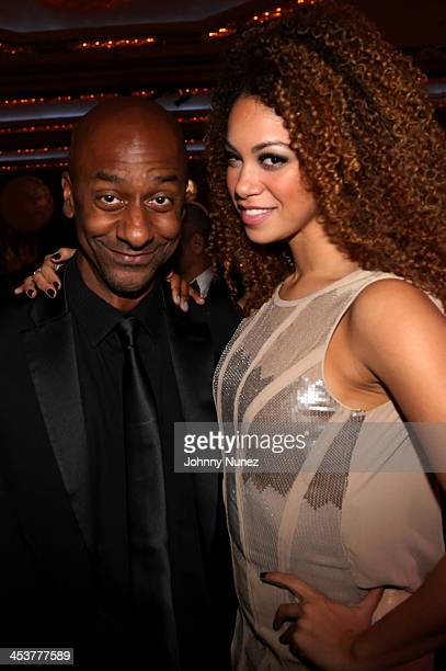 President of BET Networks Stephen Hill and recording artist Daisha attend the 2013 Alvin Ailey American Dance Theater's opening night benefit gala at...