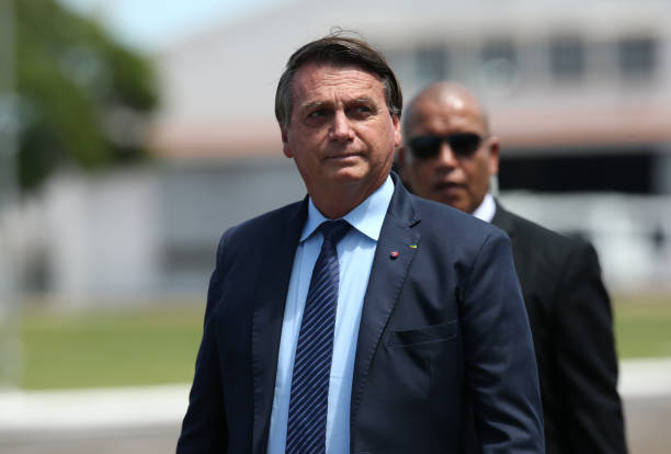 BRA: Bolsonaro Participates in the Swearing-In Ceremony of the New Air Force Cadets Amidst the Coronavirus (COVID - 19) Pandemic