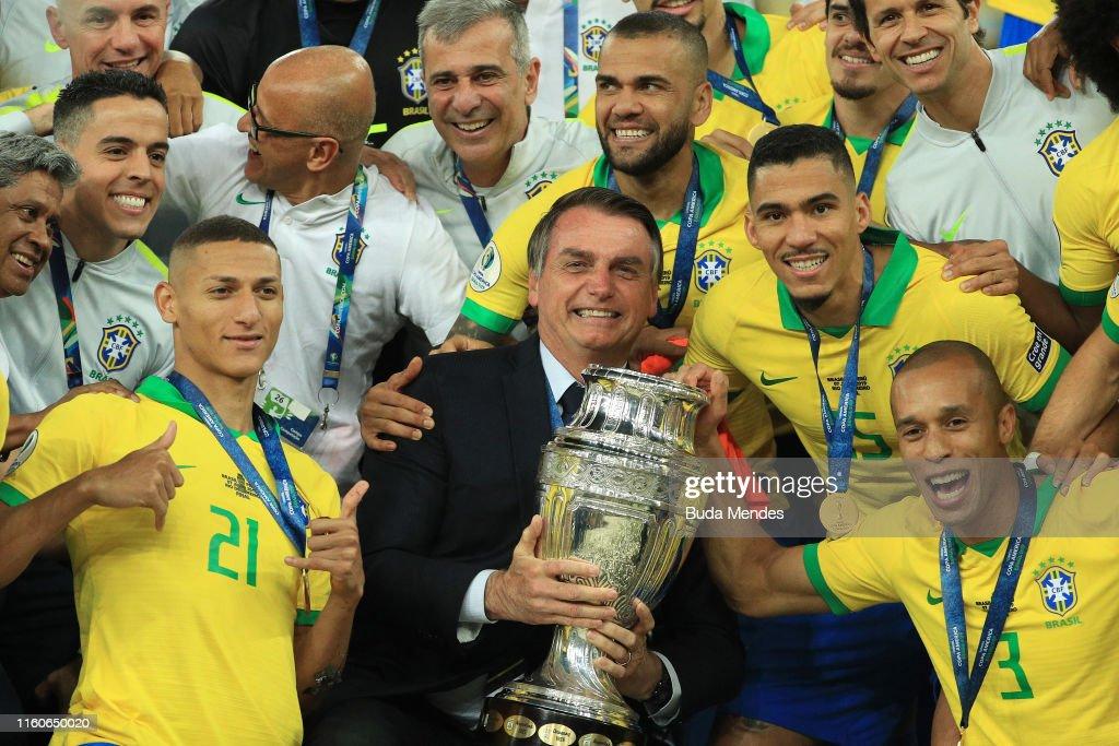Brazil v Peru: Final - Copa America Brazil 2019 : News Photo
