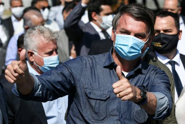 BRA: Bolsonaro Visit to Barreiros Bridge Amidst The Coronavirus (COVID - 19) Pandemic