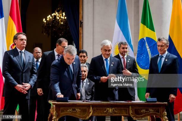 President of Brazil Jair Bolsonaro President of Peru Martín Vizcarra President of Colombia Iván Duque President of Ecuador Lenin Moreno President of...