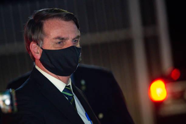 BRA: Bolsonaro Speaks with his Supporters in Front of Palacio da  Alvorada Amidst the Coronavirus (COVID - 19) Pandemic