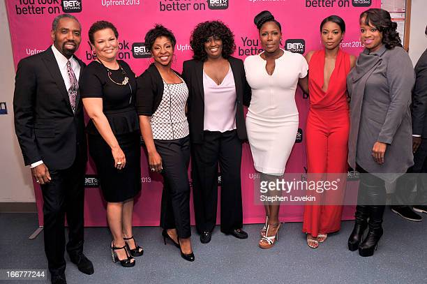 President of Broadcast Media Sales for BET Networks Louis Carr Chairman/CEO of BET Networks Debra Lee Gladys Knight President of Original Programming...