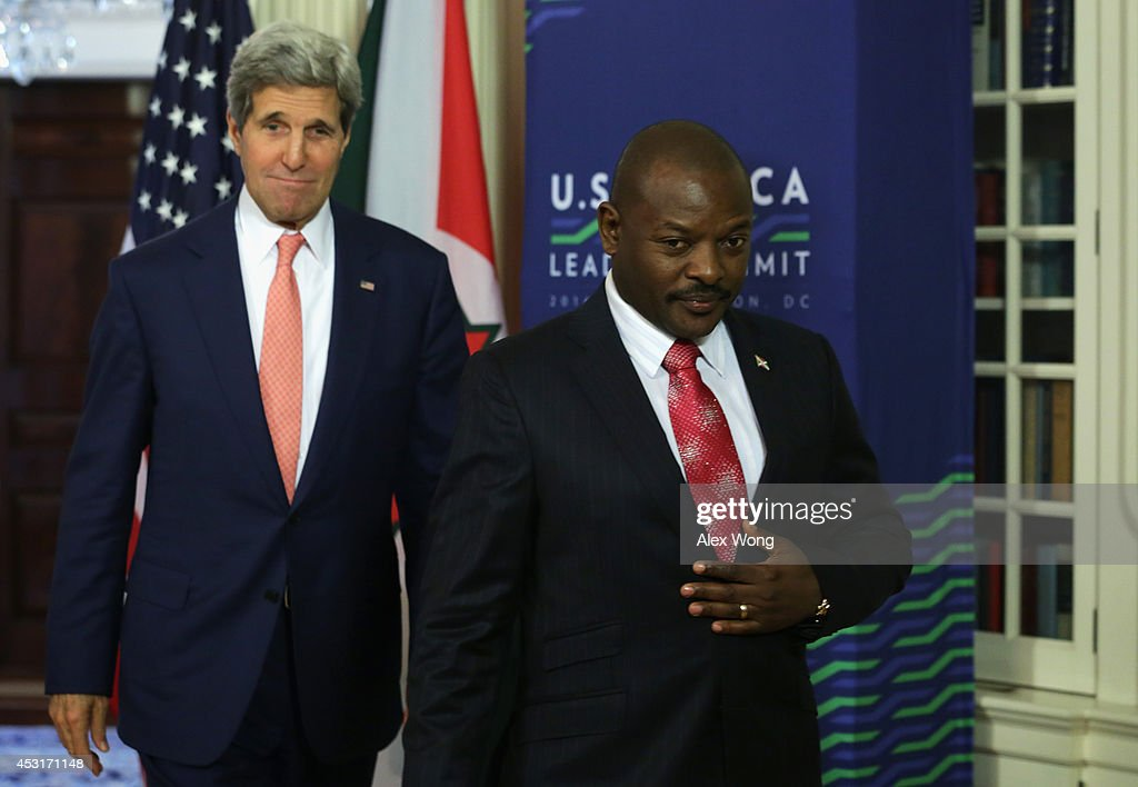 John Kerry Meets With African Leaders At State Department