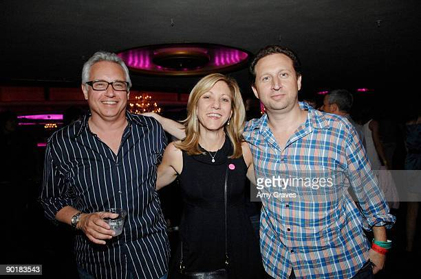 President of Buzz Media Alan Citron and CEO of Buzz Media Tyler Goldman attend Katy Perry Presented by SoundsofBuzzcom And Coca Cola at the Hollywood...