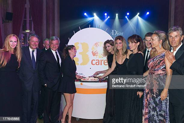 President of Care France Honorary Committee Clelia d'Aulan Benenati Deauville mayor Philippe Augier President of Christian Dior Couture Sidney...