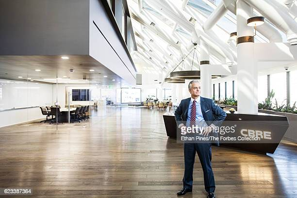 President of CBRE, Inc., Lewis C. Horne is photographed for Forbes Magazine on March 15, 2016 in Los Angeles, California. PUBLISHED IMAGE. CREDIT...