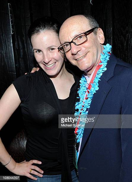 President of CBS Marketing Group George Schweitzer and daughter Amanda Schweitzer attend ComicCon Fandemonium with EW and CBS during ComicCon 2010 at...