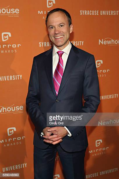 President of CBS News David Rhodes attends the 2016 Mirror Awards at Cipriani 42nd Street on June 9 2016 in New York City